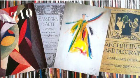 Copertine di periodici e bozzetto di Julian Beck